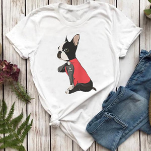 Women T shirts Clothing 90s Dog Pet Mom Funny Fashion Style Cartoon Top Lady Tshirt Female Ladies Print Graphic Tee T Shirt