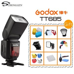 Godox685 FlashL Camera Flash speedlite High Speed 1 8000s GN60 for DSLR Camera +gifts1