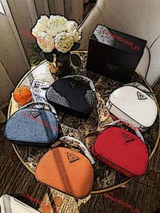 Prada handbag Die neue echtes Leder-Schulter getragen Frauen Eimer Taschen Frauen-Handtasche Fashion Mini Designer-Taschen-Querkorn Crescent Paket Geldbeutel