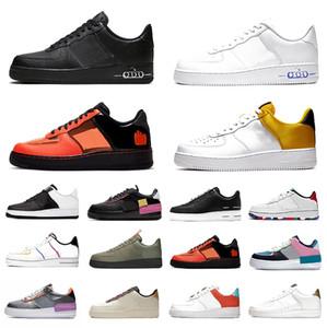 force 1  one  forces shoes Blanc Noir 1 Dunk Casual Chaussures de Sport Utilitaire Yellorw Rouge Gris Seulement Orange Ruban-Pack Femmes Hommes Bas Baskets Sport