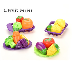 New style play house toy Cut the fruit kid puzzle fun toy gift both boy and girl