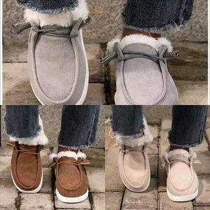 Runa Winter Woman Boot Botas de Neve Botas de Neve Pu Winter Heel Alto Grosso WA Curva Brilhante Crystalboots Casual Morno Algodão Knee High Neve