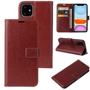 Funda telefónica de cuero de PU para iPhone 13 12 11 Pro Max Monedero Casos de billetera XR XS SE FUERA DE PADE CON TRABAJES DE TARJETAS