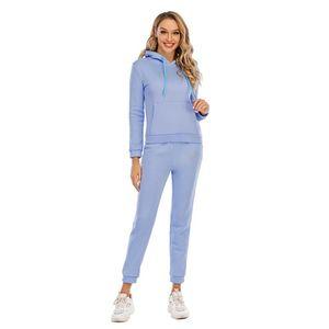 Camisola de inverno Dois pedaço conjunto jaqueta de colheita e corredores de tracksuit 2 peça conjunto de strass diamond rhinestones jogging ternos para mulheres