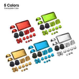 Accessories electroplate Button Kits for PS4 Slim Controller VersionJDM-040 personality button
