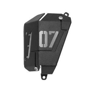 MT07 FZ07 Хладагент Восстановление Tank Экранирование Обложка для Yamaha MT07 FZ07 2014-2019