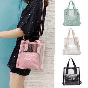 Handbags Fashion Lady Wild Single Shoulder Design Diagonal Portable Transparent Bag Clutch bags for women 2019 bolsa feminina