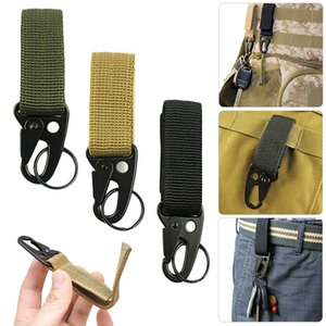 Outdoor camping equipment military artillery ring shotgun with key clip - key jewelry accessories