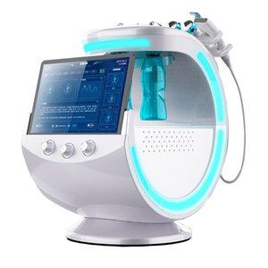 2020 Professional 6 in1 H2O2 Hydro Dermabrasion Lifting Spa Facial Rejuvenation Microdermabrasion Machine Water Multipolar Beauty Machine