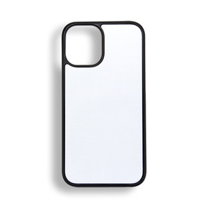 30pcs Retail 2D Sublimation Blank Phone Case Hard PC for iPhone 12 mini 12 pro max with sticky and Aluminum Sheet