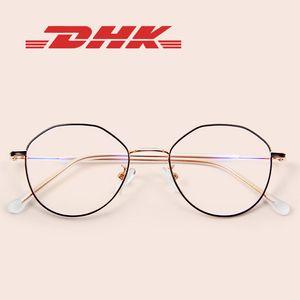 Оптические мужские очки Weeware Fasshion круглые анти синие очки Женщины Очки Мода Очки Стеклянные линзы с УФ-защитой для дам