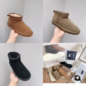 08Gf6 Hot women winter man Classic snow SLIPPER boot snow outdoors Ankle boot winter Boots Sale-Boot slippers WGG MAN TASMAN shoes