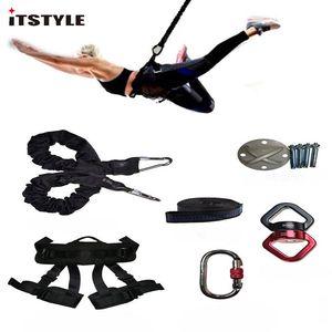 Itstyle Bungee Dance Workout Gym Gym Fitness Equipment Equipement Anti-Gravity Bandes de résistance Yoga Trainer