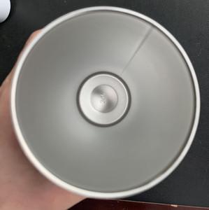 20oz Stainless Steel Cup Heat Transfer Sublimation Blanks Tumbler Fall Resistant Wear Resisting Coffee Mug Drink Skinny