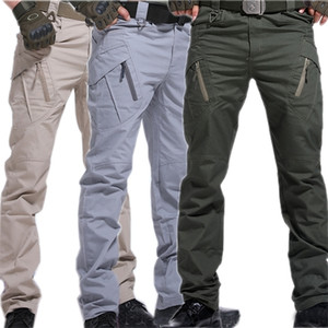 Cargo Pants Army Trousers City Military Tactical Pants Men SWAT Combat Men Many Pockets Waterproof Wear Resistant Training pants 0930
