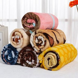 Random Color Warm Cat Dog Bed Color Random Puppy Dog Blanket Soft Flannel Fleece Sleeping Bed Mat Cover House For Dogs Pet Supplies