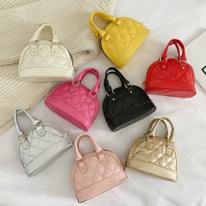 Kids Mini Purses and Handbags Leather Crossbody Bags for Girls Small Coin Pouch Baby Wallet Clutch Shell Bag Gift
