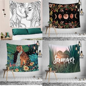 3D tapestries, blankets, yoga carpets, home wall decorations, fabrics, hippie decorations