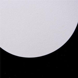 100 unids / bolso 9cm Filtro redondo Papel de filtro de filtro cualitativo Papel de velocidad de velocidad de velocidad Medio Laboratorio de papel BBYRUJ