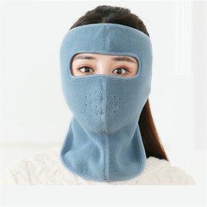 Полярная флисовая маска для лица зима теплая полное лицо крышки для взрослых лицом для взрослых сторонника маска спортивные SkiMass велосипедные мотоцикл головные уборы шарф шляпы EWF2535