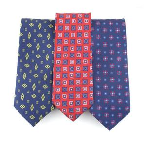 Linbaiway 7.5cm Necktie Classic Ties for Mens Formal Gravatas Para Homens Groomsman Wedding Dress Necktie Custom Logo1