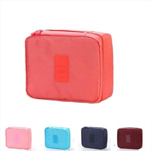 Women Cosmetic Bag Makeup Bag Case Make Up Organizer Toiletry Storage Neceser Rushed Lipstick Nylon Zipper New Travel Wash Pouch