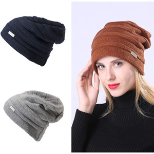 Foreign Trade Explosion Cashmere Knitted Knitted Mens Beanie Mens Hat Winter Letter Hat Designers Caps Hats Mens Woman Luxurys Designers