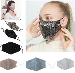 Женщины маска пришивание Безопасного Дыхание Рот Маски Складывающегося респиратор против пыли дышащей маски для лица многоцветного Модельера маски