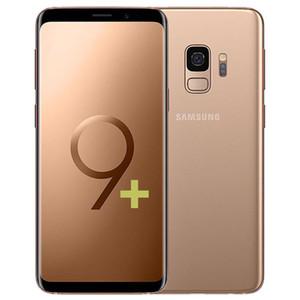 Remodelado Original Samsung Galaxy S9 Plus S9 + G965F G965U 6.2 polegadas OCTA CORE 6GB RAM 64GB ROM Desbloqueado 4G LTE Smart Phone GRÁTIS DHL 1 PCS