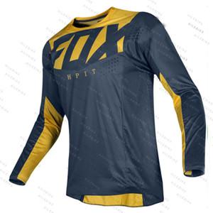 Atacado camisa descida fox marinha camisa moto 360 montanha off-road de moto sportswear jersey roupas FXR bicicleta