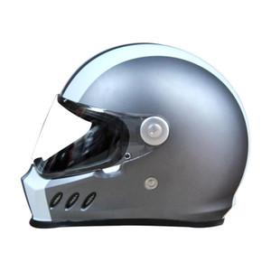 Casque de moto Hommes Moto Casque Off Road Moto Casque Équitation Capacete De Moto Vintage Full Face Casques de certification ECE