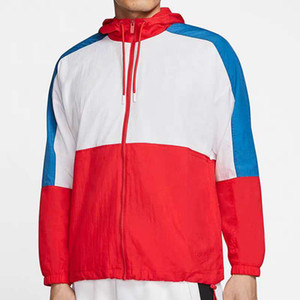 Primavera Jacket Mens jaqueta Mulheres Brasão camisola com capuz Mens Clothes Asiático Tamanho Hoodies manga comprida Outono Sports Zipper Windbreaker