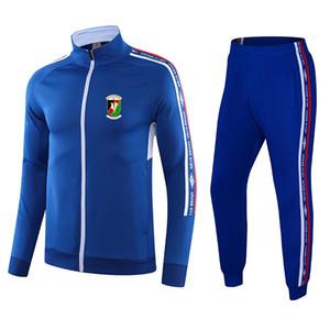 Top Glentoran F.C Soccer sports tracksuit Winter golf suit outdoor training sets Running Wear Bowling Sportswear