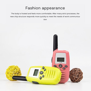 22 Channel 2pcs Voice Walkie-Talkie Parent-Child Toy Two-Way Broadcast Two-Way Radio 2 Mile Range Handheld Walkie-Talkie1