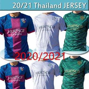 كيت 20 21 SD هويسكا الرجال لكرة القدم جيرسي الاطفال 2021 سيرجيو غوميز J.Pulio اينسوا أوكازاكي خافي جالان camisetas دي فوتبول قمصان كرة القدم التايلاندية