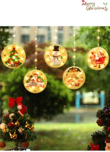 New LED ice strip lights Christmas decorative lights room decorations colorful star lights string waterproof indoor and outdoor use GWE1955
