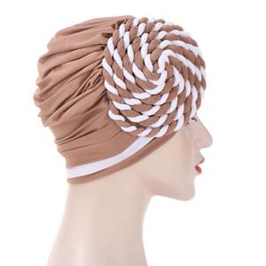 Neues Design Muslim Hijab Kurzer Hijab für Frauen Geschenk Islamische Röhre Innenkappe Islamische Hijab Indische Stirnbandkappe Haarschmuck HWC2878