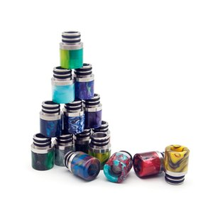 VapeSoon001 510 resin + stainless steel drip tip suit for falcon melo 3 mini tfv8 baby etc ePacket free