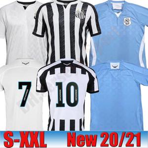 2020 Brazilianischer Clube Camisa de Futebol Fussball FC Santos 6 Gustavo H. 41 Jean Mota 21 Diego P. Football Hemd Kits Uniform
