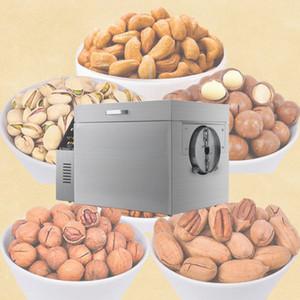 le gaz de la machine de torréfaction écrou électrique en acier inoxydable commercial fruits secs arachide châtaigne cacao bean machine à rôtir