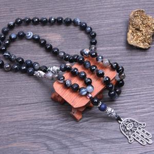 Natural White Bodhi Seed Tibetan Buddhism 108 Mala Beads necklace Unisex Prayer & Yoga Meditation Lotus Jewelry