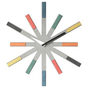Wood Europe 3D Wall Clock Modern Design Quartz Watches Home Decor for Living Room Decorative Large Wall Art Sticker Merchanism