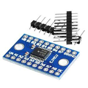 1 PCS TXS0108E 8 canales de nivel lógico bidireccional Convertir módulo convertidor TXB0108 Mutua Módulo TXS0108