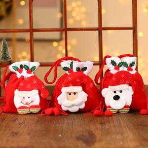 Regalos de Navidad de alta calidad caramelo Bolsa portátiles Claus regalo de Santa Bolsas delicados niños de Apple Bolsas de Navidad Inicio Juegos de Disfraces aC BH4194