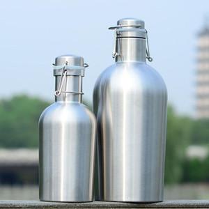 Acciaio inossidabile bottiglia portatile Beer Barrel swing sicuro Top coperchio vino esterna Grande capacità isolante termico di Beer Barrel DH1316 T03