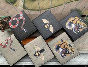 2020 Spedizione gratuita 2020 nuovi uomini portafogli portafogli in pelle PU in pelle cross-wallet da uomo porta carte da uomo borsa tascabile in stile europeo borse ASZDDDD