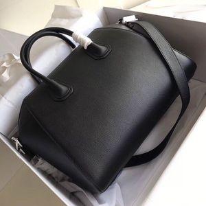 2020 solds quentes das mulheres sacos de designers de bolsas bolsas antigona motocicleta zipper simples genuínas bolsa de couro de moda sacos famousbags