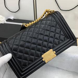 En kaliteli omuz çantası V kilit küçük elmas kafes hakiki deri klasik altın zincir kapitone kapak kadın cüzdan yüksek son crossbody kesesi