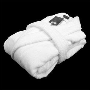 Cotton Men Bathrobe Very Thick Robe Long Sleeve Thicken Men's Robe Plush Shawl Fashion Kimono robe Warm Male Bathrobe Winter 201109