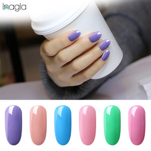 Inagla 3 in 1 UV Gel Polish One Step Gel Lacquer 8ml Soak off Organic UV LED Nail Gel Varnish Nail Art Salon New Arrival Varnish